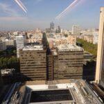 Tejados de Madrid vistos desde la Torre Picasso