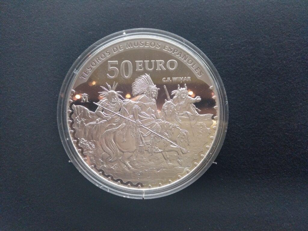 Moneda de 50 Euros - Banco de España
